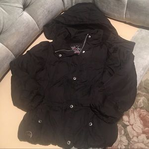 Zero Xposure Girls Blk Puffer Winter Coat/SZ M